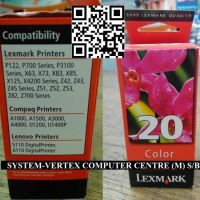 Lexmark 20 Color Ink
